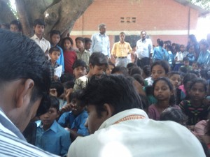 Environment and Wildlife Awareness Camp in Shri Ma.Vi., Mithileshwar Mauwahi