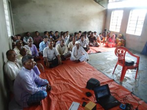 Interaction Program at Mangalpur.