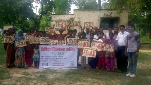 Group Photo of 15 days Mithila Painting Training Programme organized by MWT