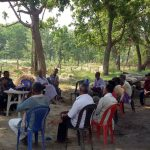 Interaction to highlight the importance of illicit felling free and open grazing free zone