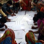 Learning Sketch of Mithila Painting at DPF