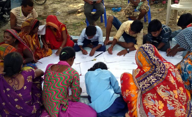 Participants of Mithila Painting Training organized by MWT in support of Ncell