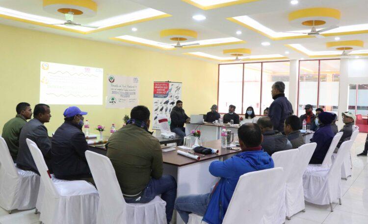 Participants during Inception Program