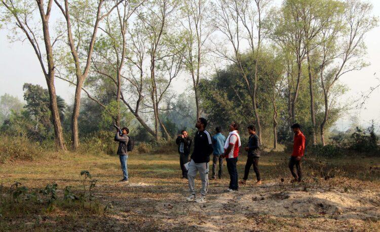 Bird Watching at Doodhmati, Janakpur