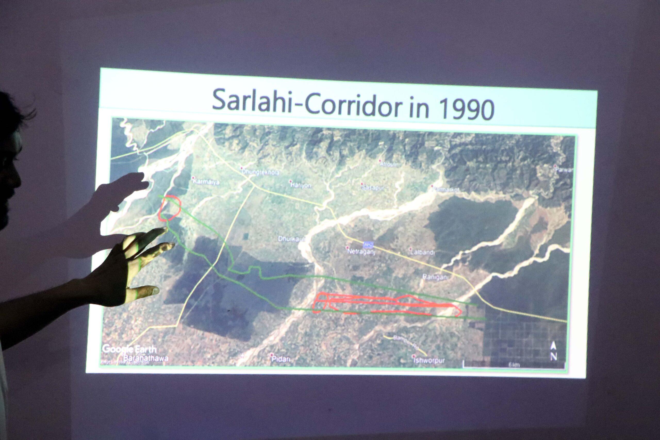 Status of wildlife corridor in Central Nepal
